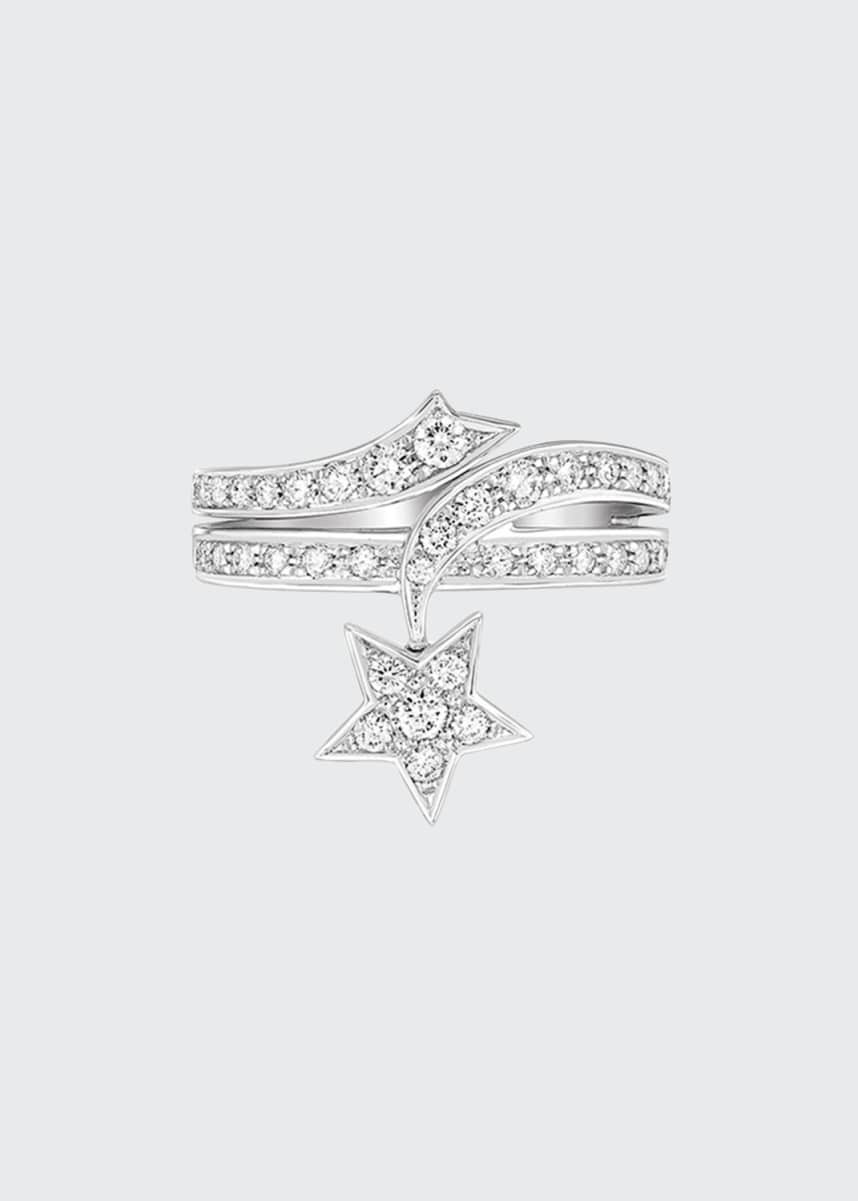 CHANEL COMÈTE Ring in 18K White Gold with Diamonds