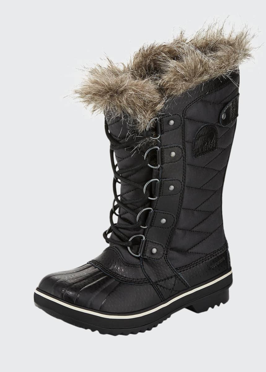 Sorel Tofino™ II Fur-Trim Quilted Boots