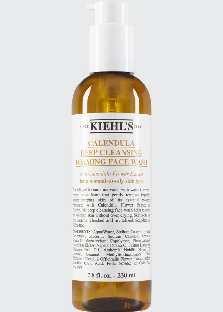 Kiehl's Since 1851 Calendula Deep Cleansing Foaming Face Wash, 7.8 oz