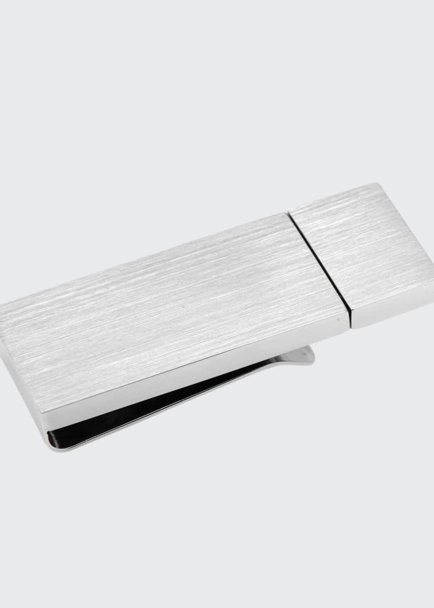Cufflinks Inc. Brushed Silver 8GB USB Flash Drive Money Clip