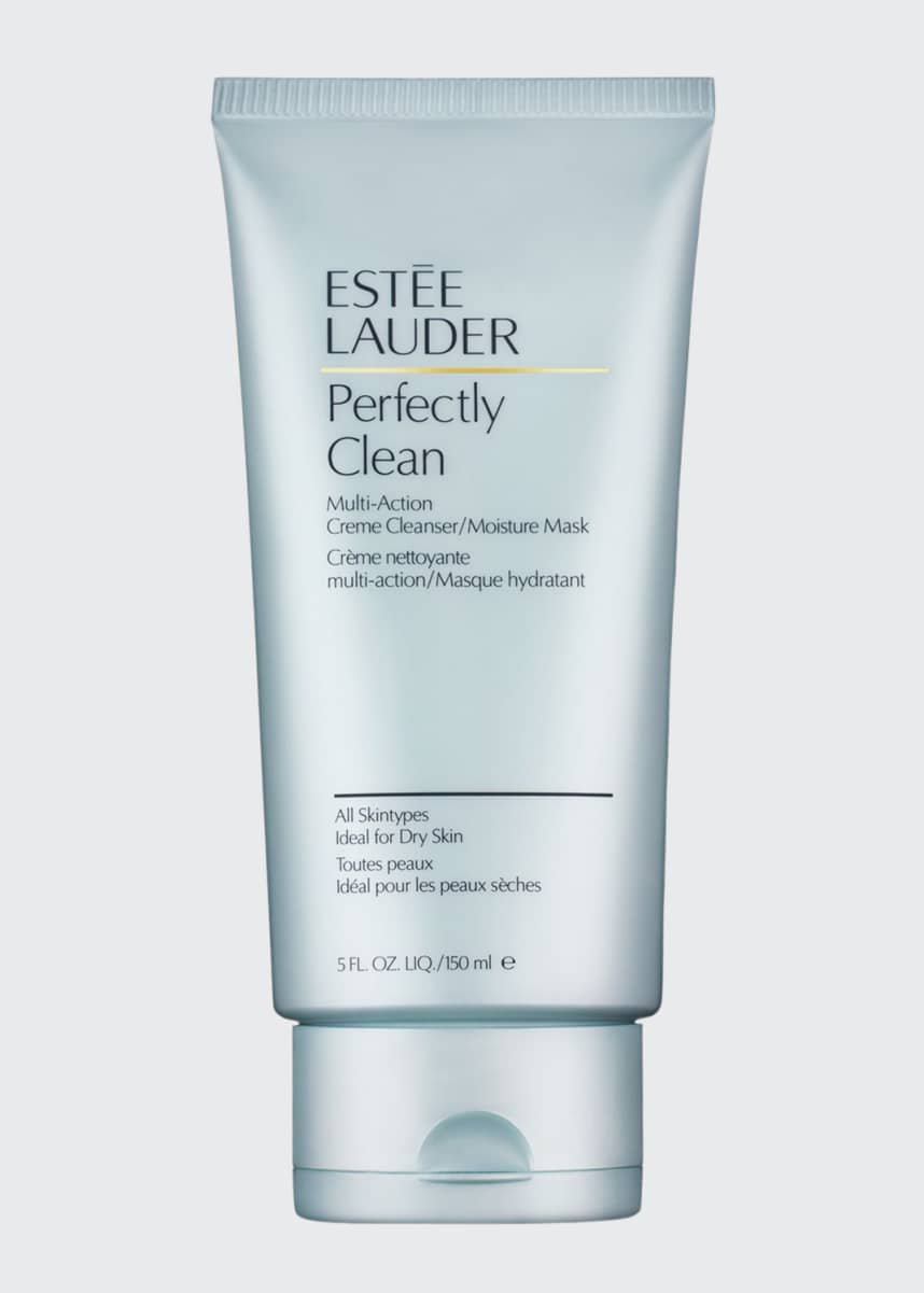 Estee Lauder Perfectly Clean Multi-Action Creme Cleanser/Moisture Mask, 5 oz.