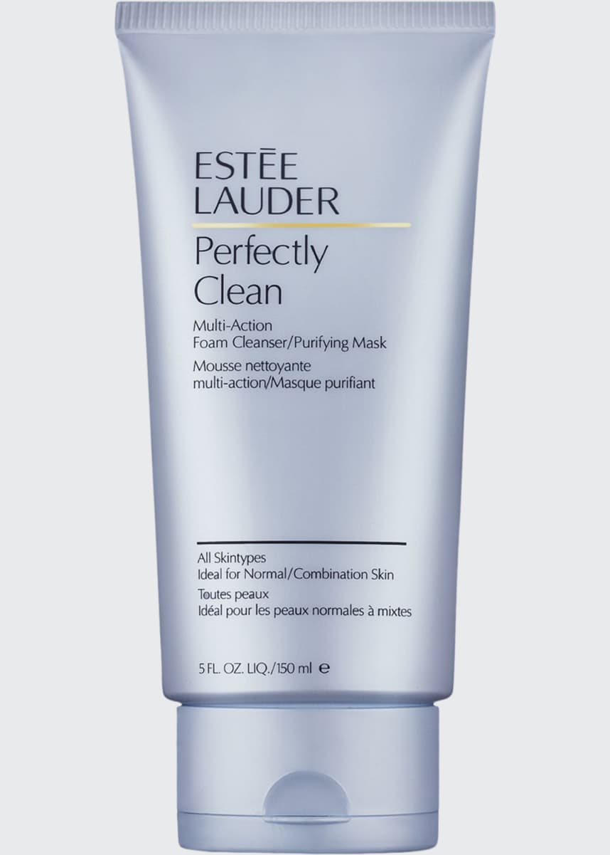 Estee Lauder Perfectly Clean Foam Cleanser/Purifying Mask, 5.0 oz.