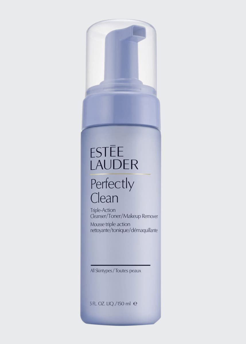 Estee Lauder Perfectly Clean Triple-Action Cleanser/Toner/Makeup Remover, 5.0 oz.