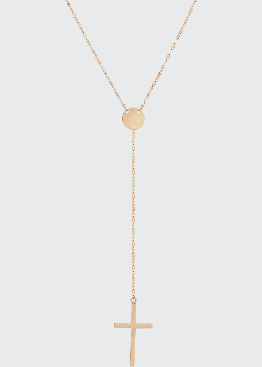 Lana Gold Crossary Necklace