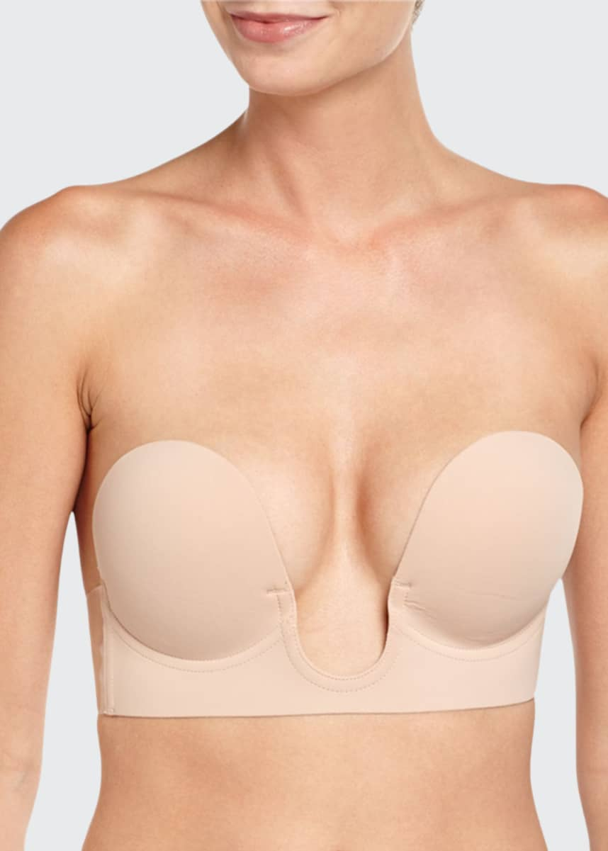 Fashion Forms U-Plunge Backless Strapless Adhesive Bra