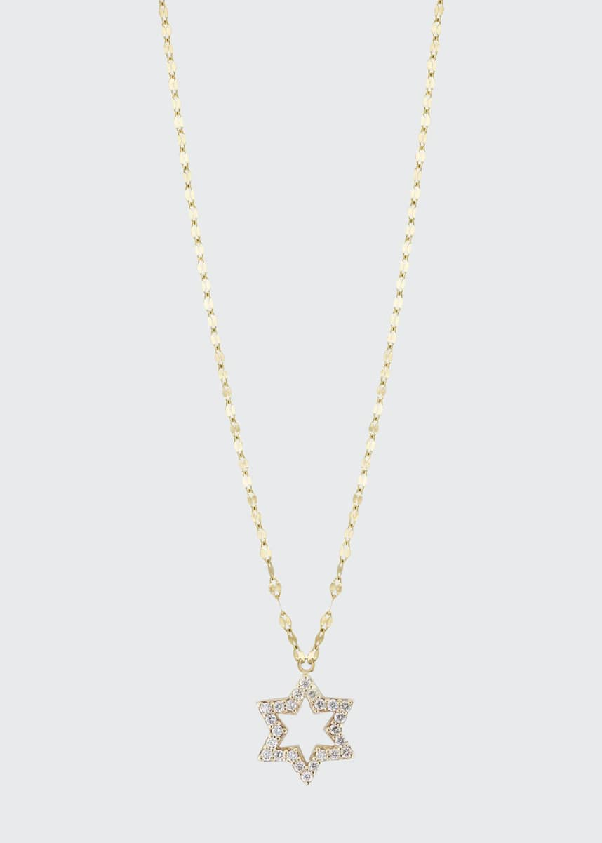 LANA GIRL BY LANA JEWELRY Girls' Diamond Star Charm Necklace