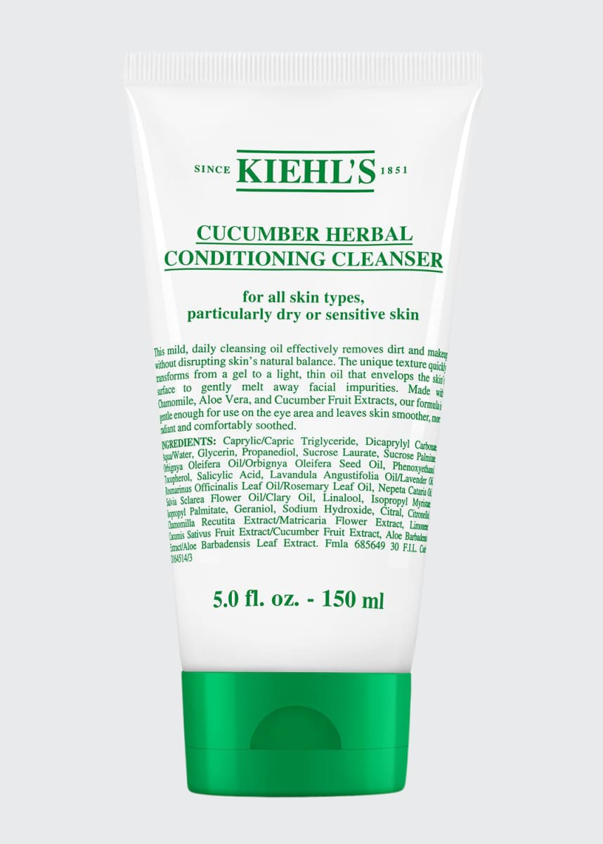 Kiehl's Since 1851 Cucumber Herbal Conditioning Cleanser, 150 mL