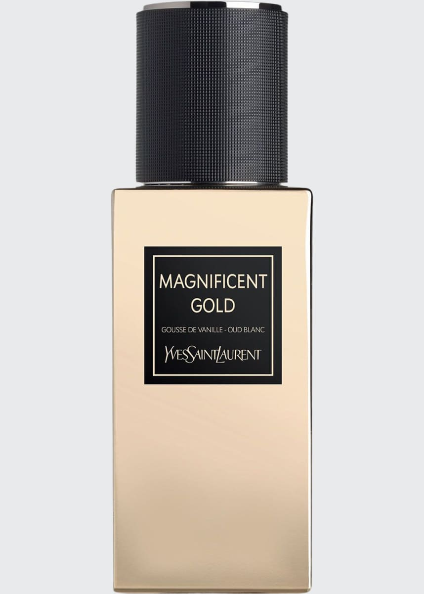 Yves Saint Laurent Beaute LE VESTIAIRE DES PARFUMS Collection Orientale Magnificent Gold Eau de Parfum, 2.5 oz./ 75 mL