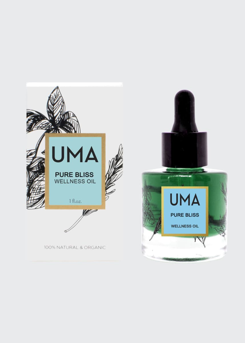UMA Oils Pure Bliss Wellness Oil, 1.0 oz./ 30 mL