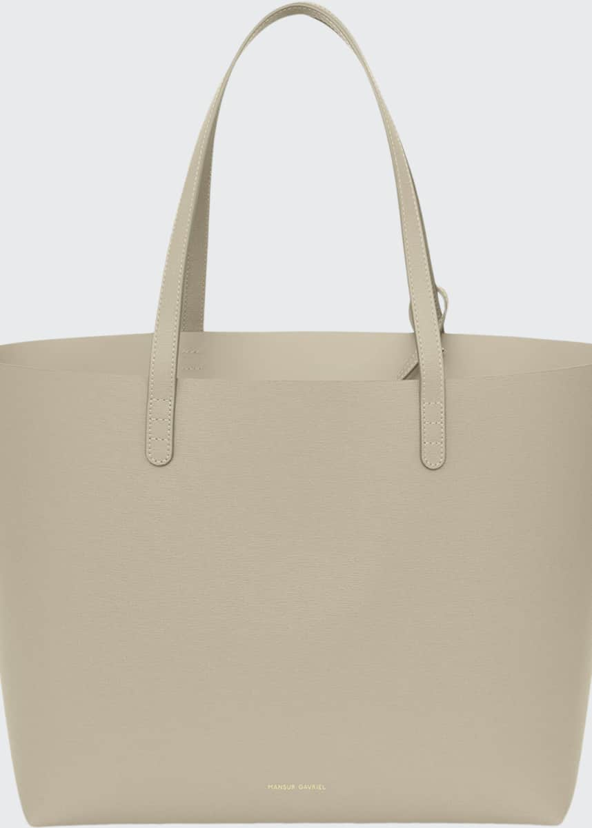 Mansur Gavriel Large Saffiano Leather Tote Bag