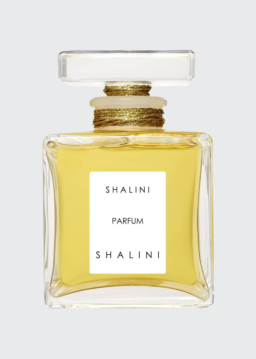 Shalini Parfum Shalini Parfum Cubique Glass Bottle with Glass Stopper sealed with Gold Thread, 1.7 oz./ 50 mL