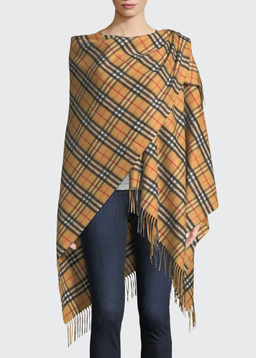 Burberry Vintage Check Collette Cape