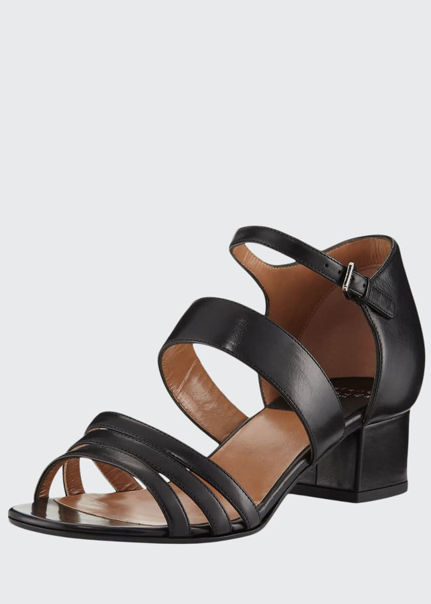 Laurence Dacade Nanou Metallic Strappy Sandals