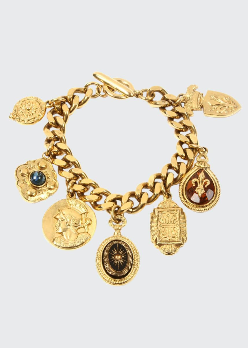 Ben-Amun Royal Queen Charm Bracelet