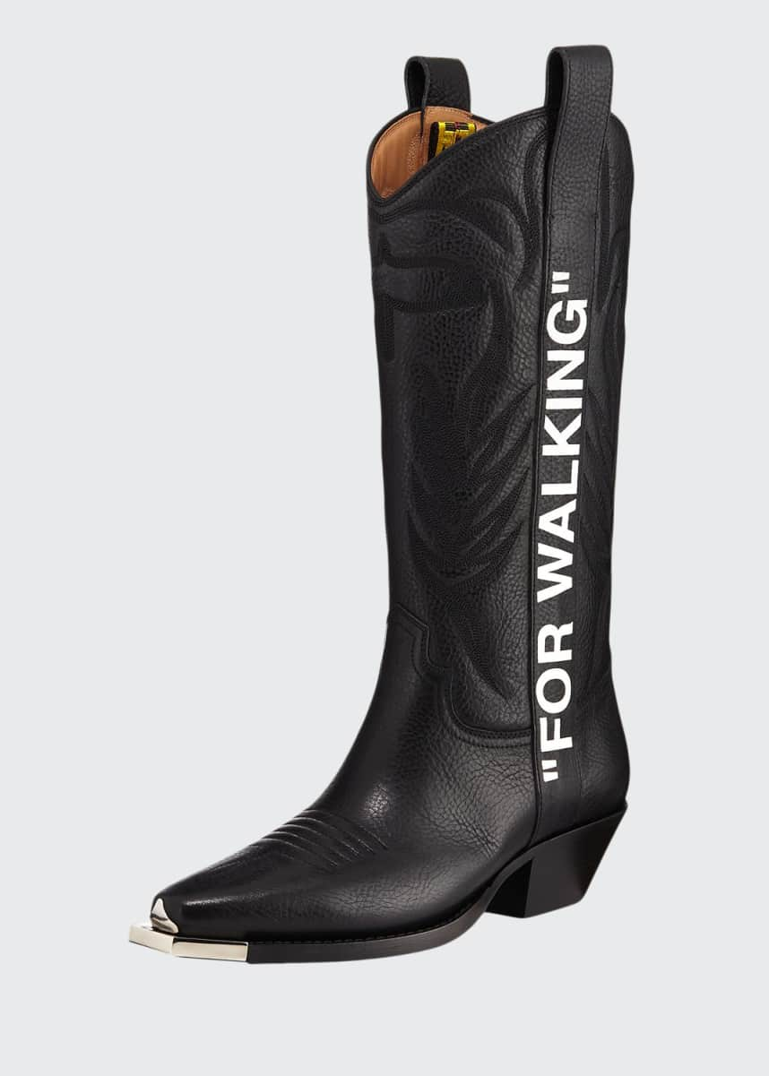 Off-White For Walking Western Boots