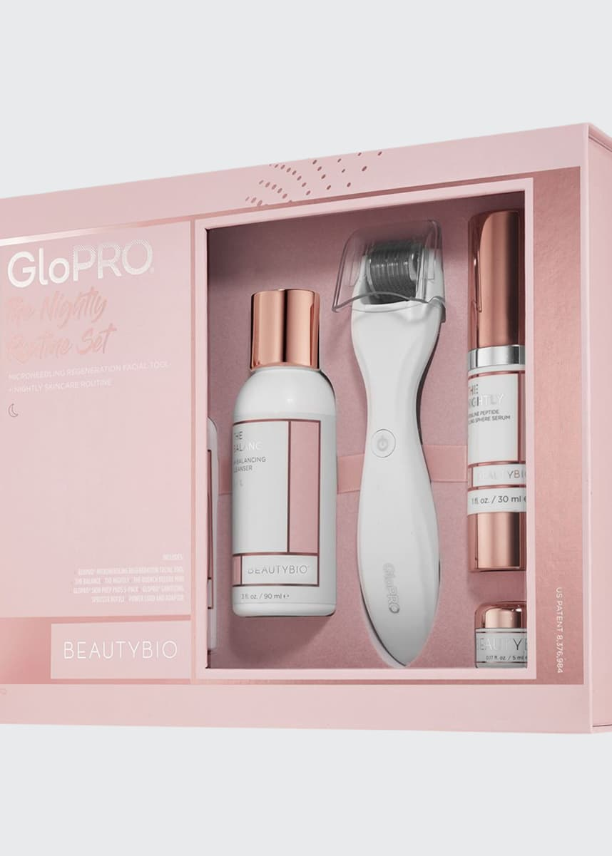 BeautyBio GloPRO® Nightly Routine Set ($309 Value)