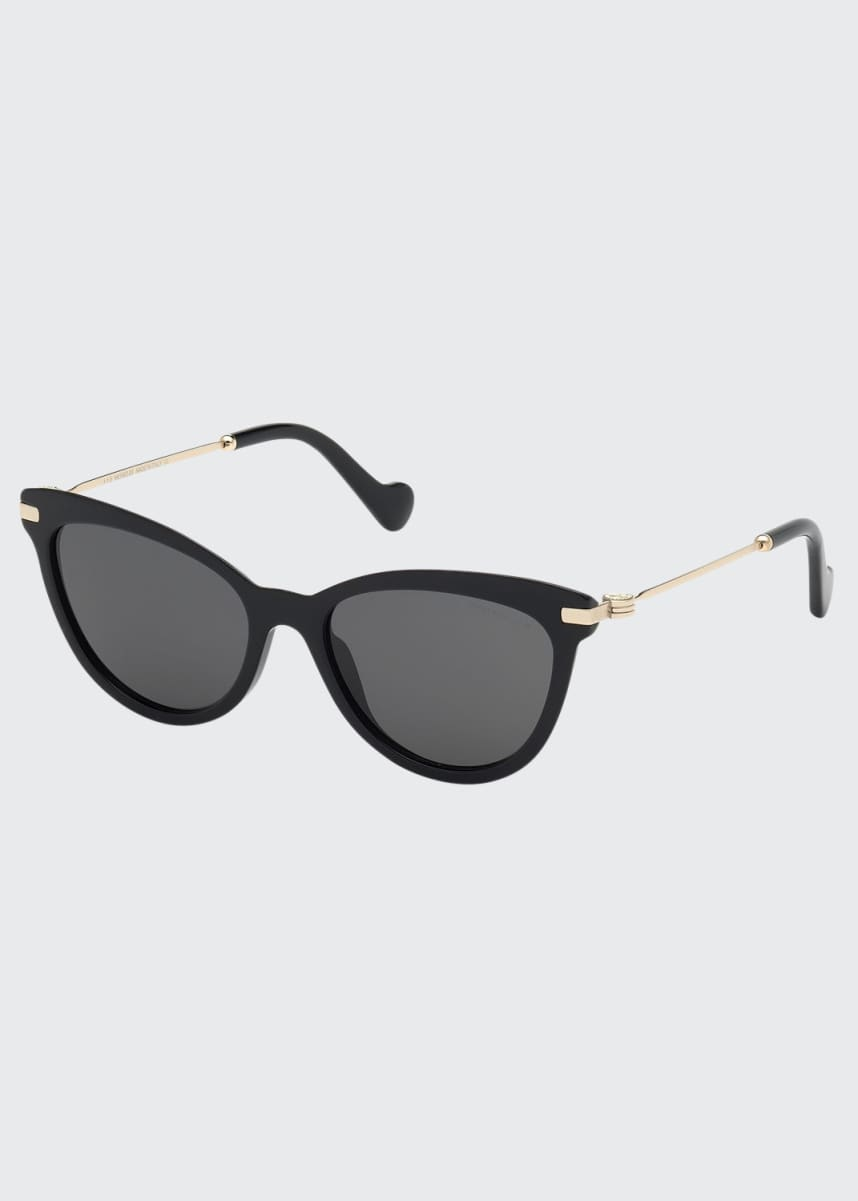 Moncler Acetate & Metal Cat-Eye Sunglasses