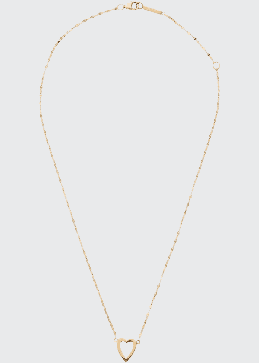 LANA GIRL BY LANA JEWELRY Girls' 14k Gold Heart Pendant Necklace