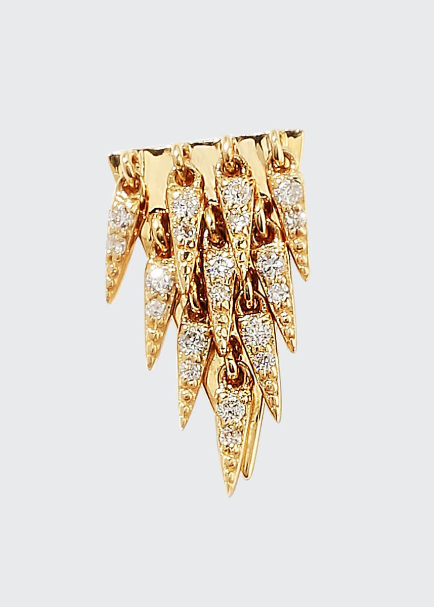 Sydney Evan 14k Diamond Cascade Fringe Earrings