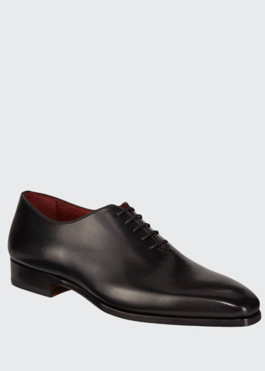 Magnanni for Neiman Marcus Men's Bol Arcade Leather Dress Shoes