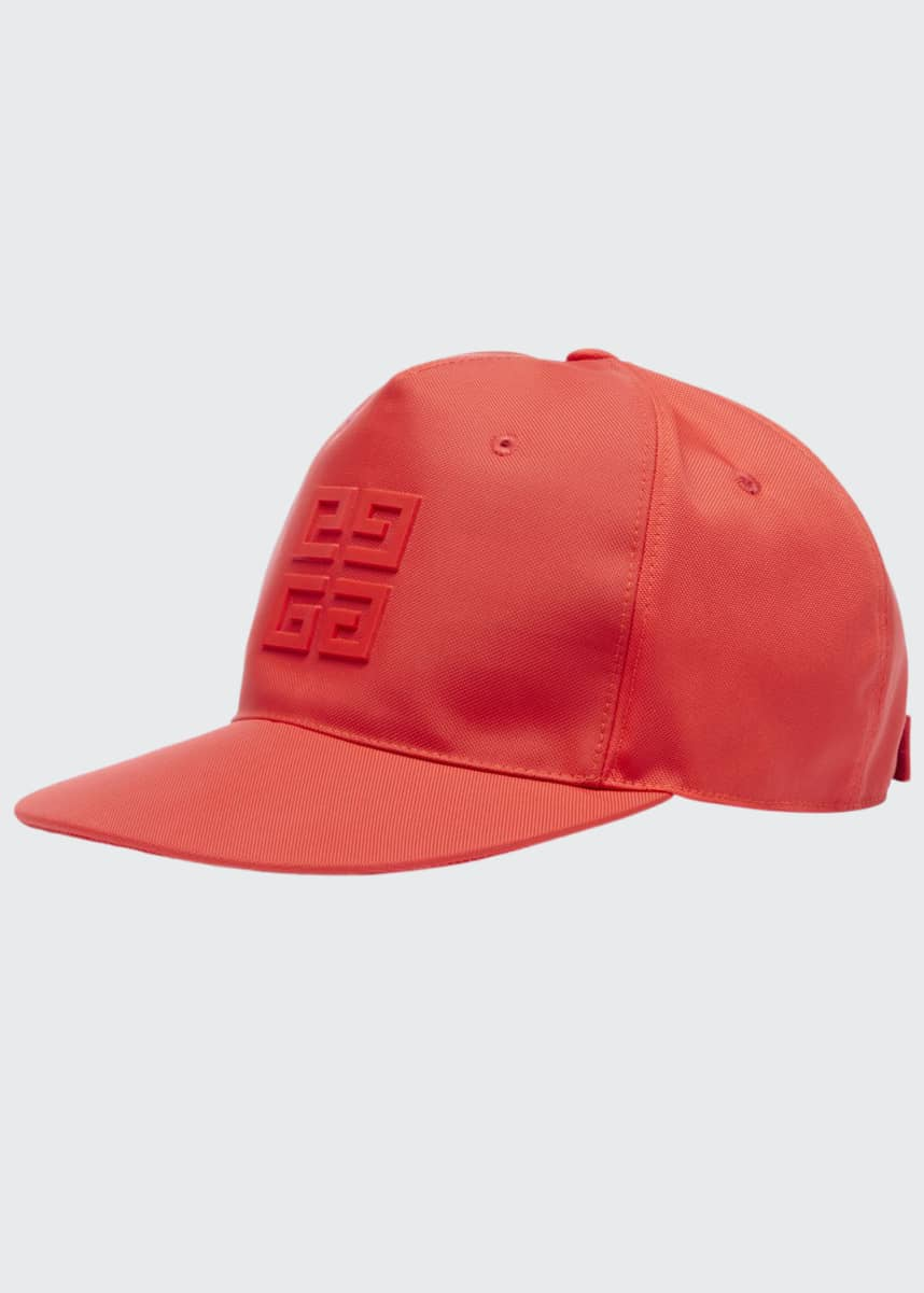 Givenchy Men's Flat Peak Tonal Logo Hat
