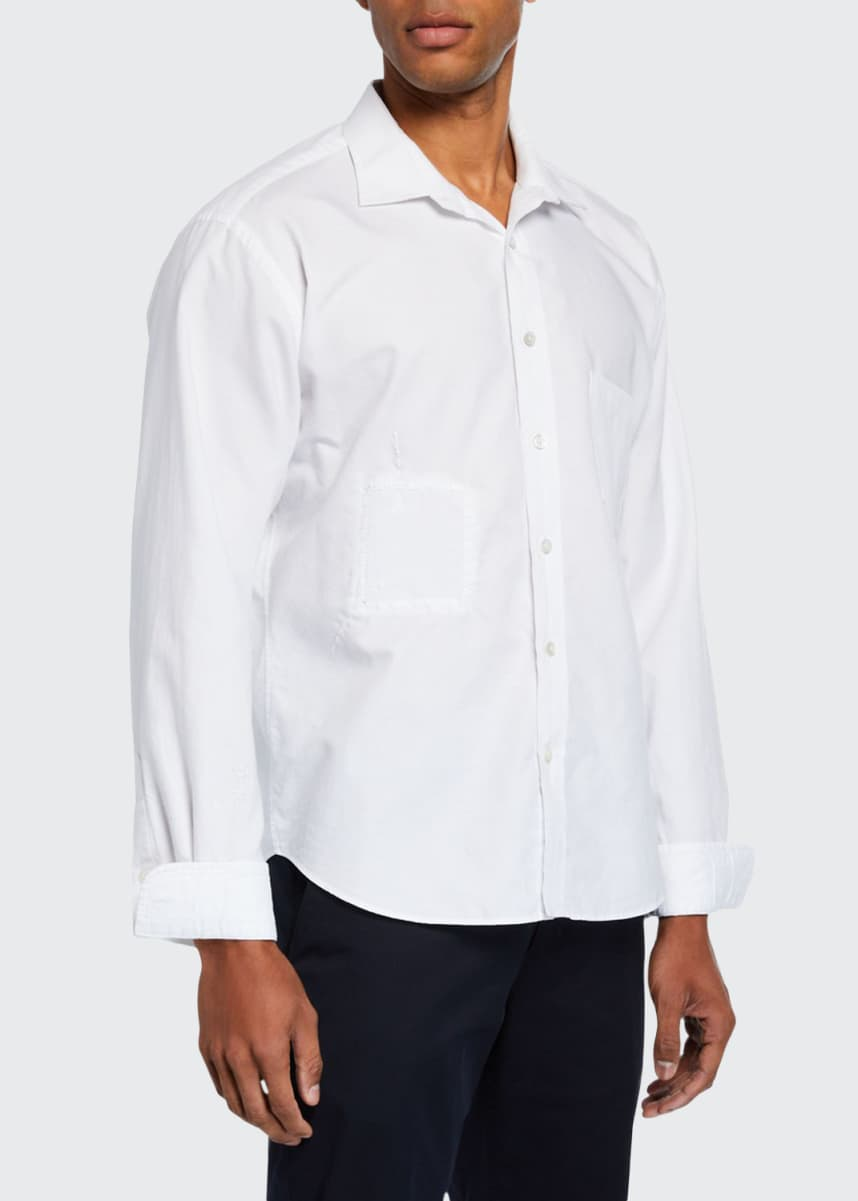 Atelier & Repairs Men's The Double Patched Sport Shirt