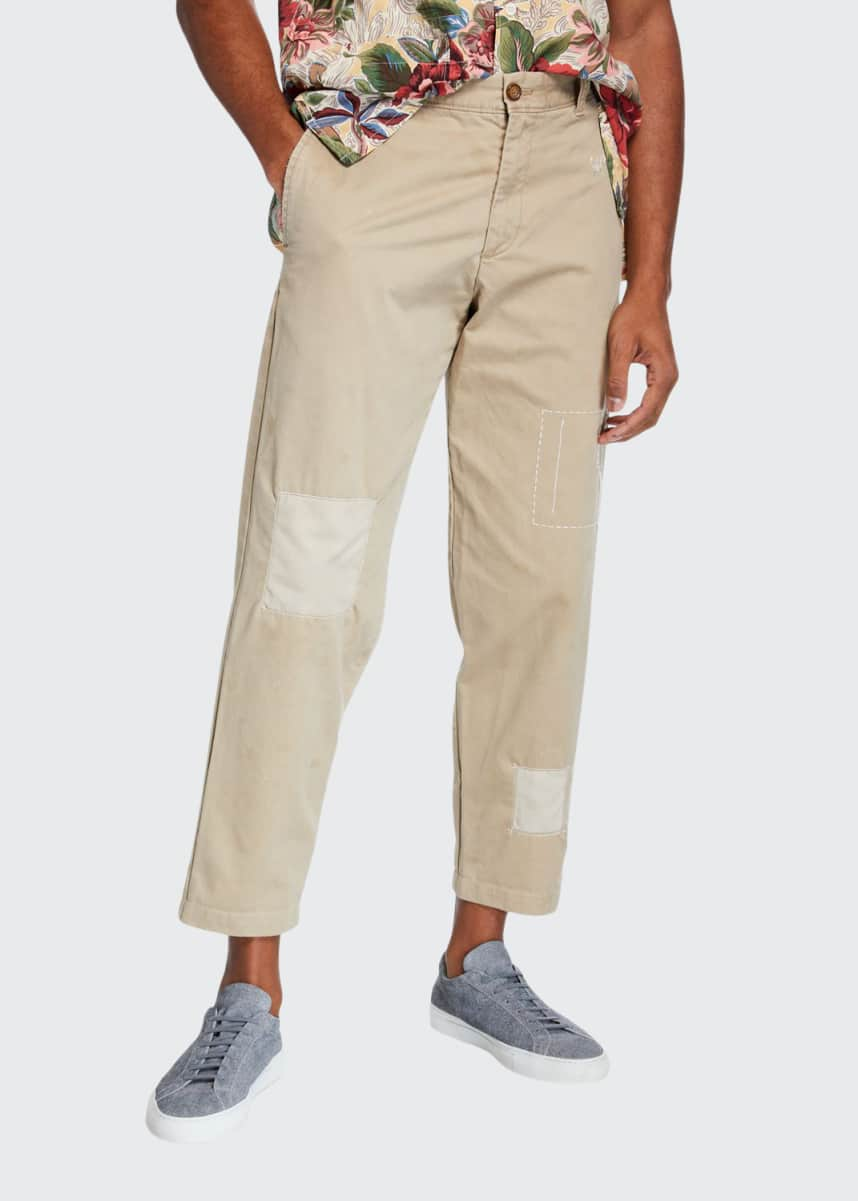 Atelier & Repairs The Pan-Am Patchwork Chino Pants