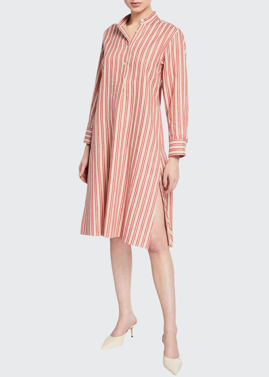 palmer//harding Alexandria Striped Shirt Dress