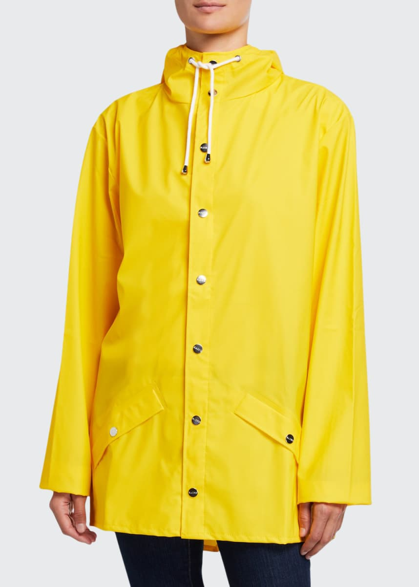 Rains Hooded Fishtail Raincoat