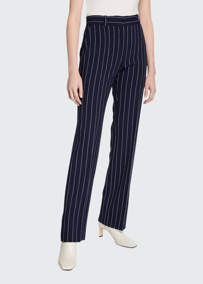 See by Chloe Pinstripe City Pants
