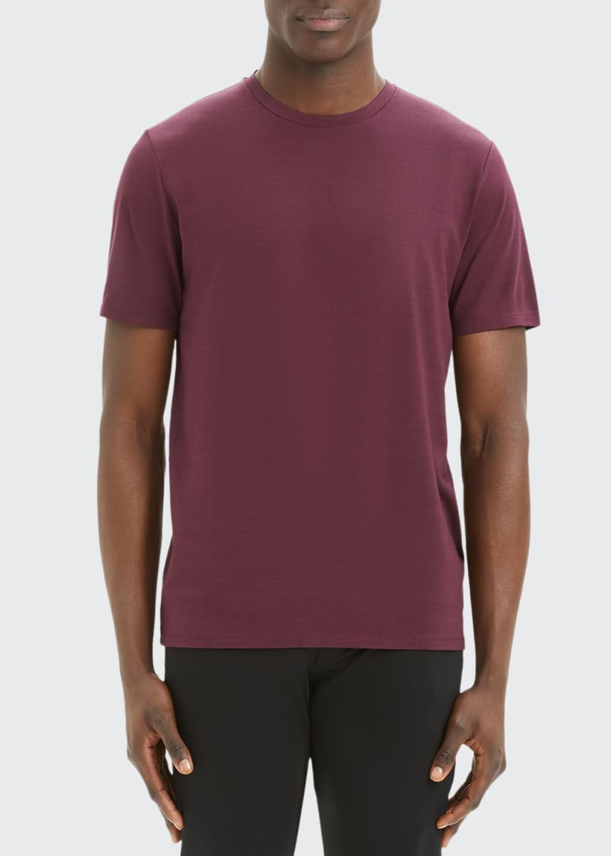 Theory Men's Incisive Clean Silk-Blend T-Shirt