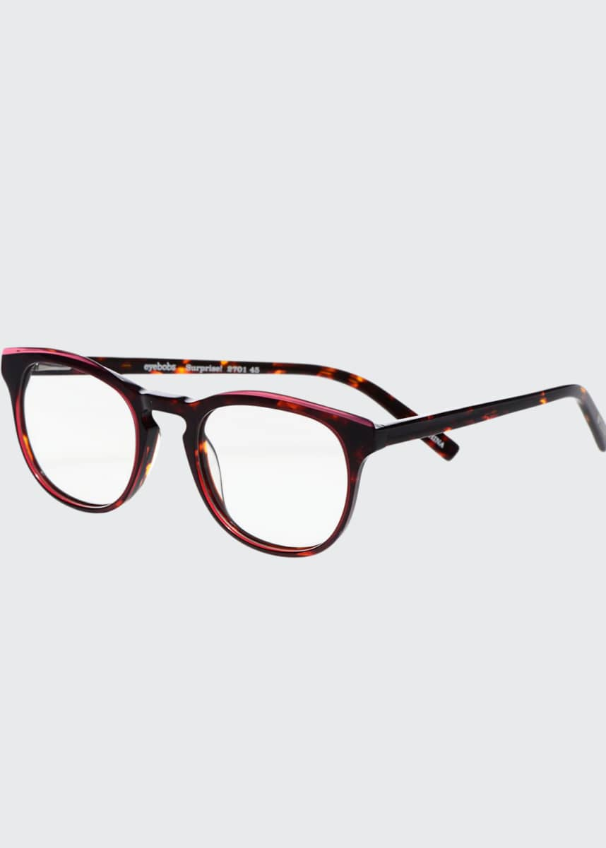 Eyebobs Surprise Round Acetate Reading Glasses
