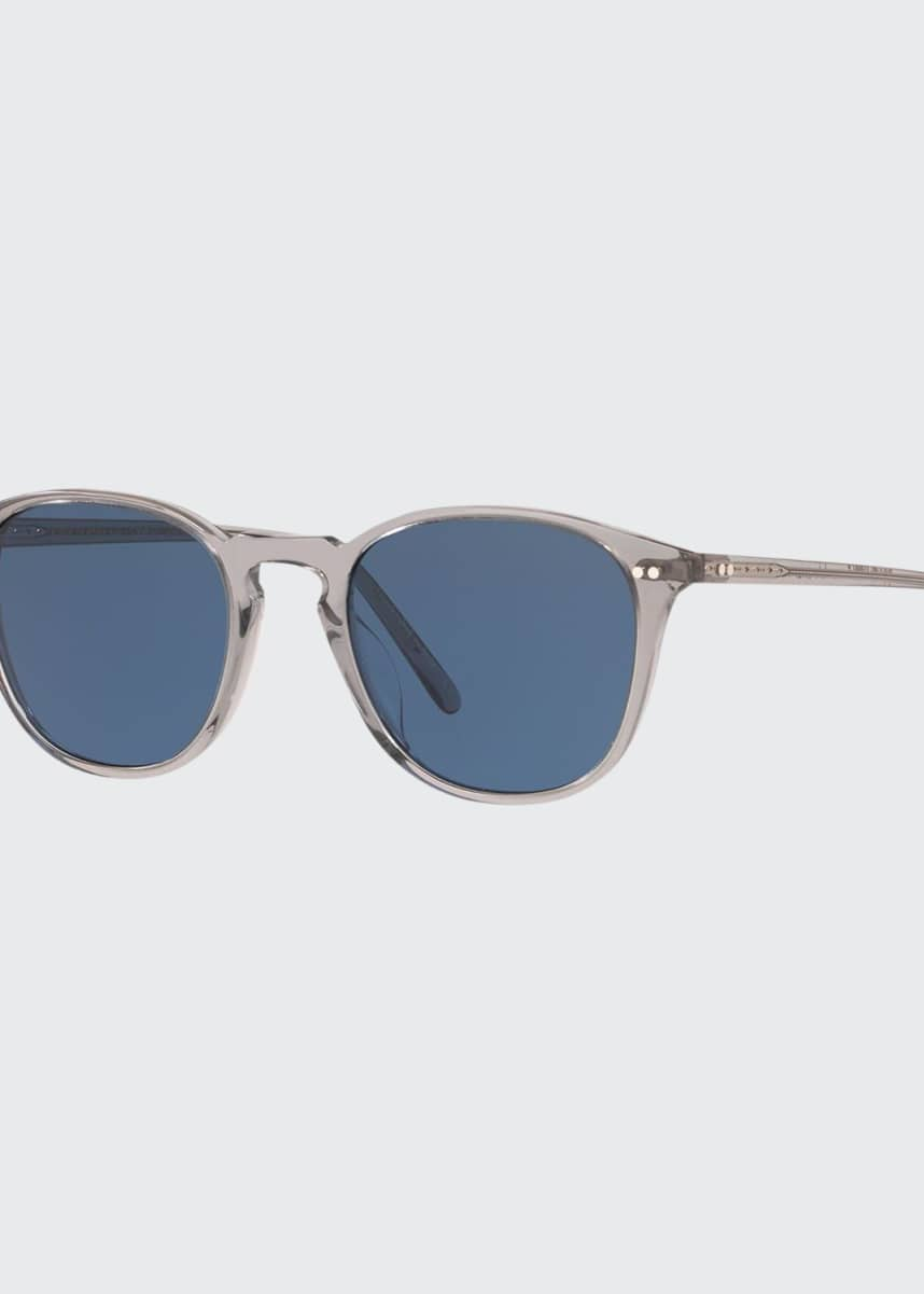 Oliver Peoples Men's Forman Translucent Acetate Sunglasses