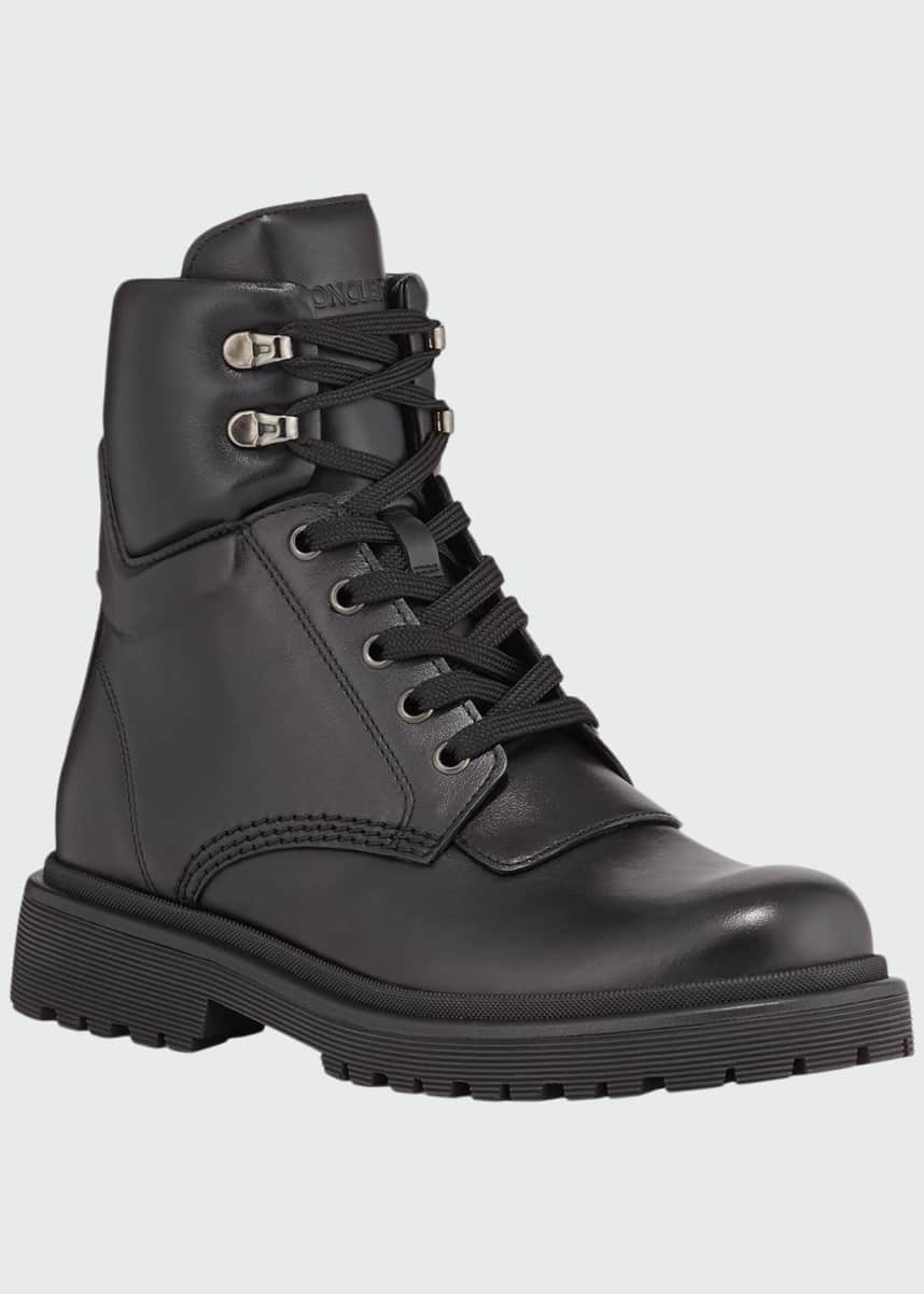 Moncler Patty Scarpa Leather Boots