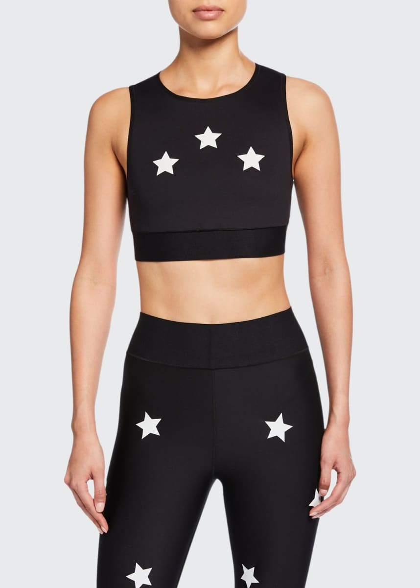Ultracor Level Reflective Knockout Star Crop Top
