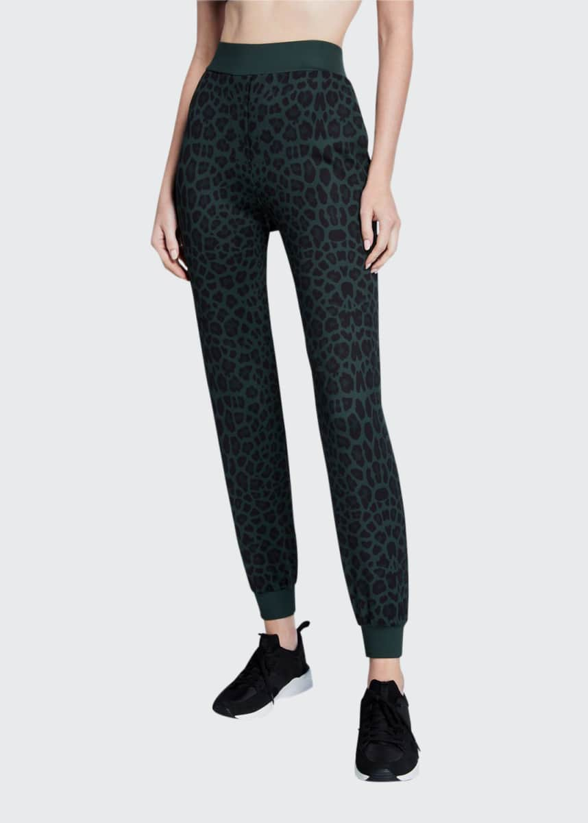 Ultracor Amina Leopard-Print Jogger Pants