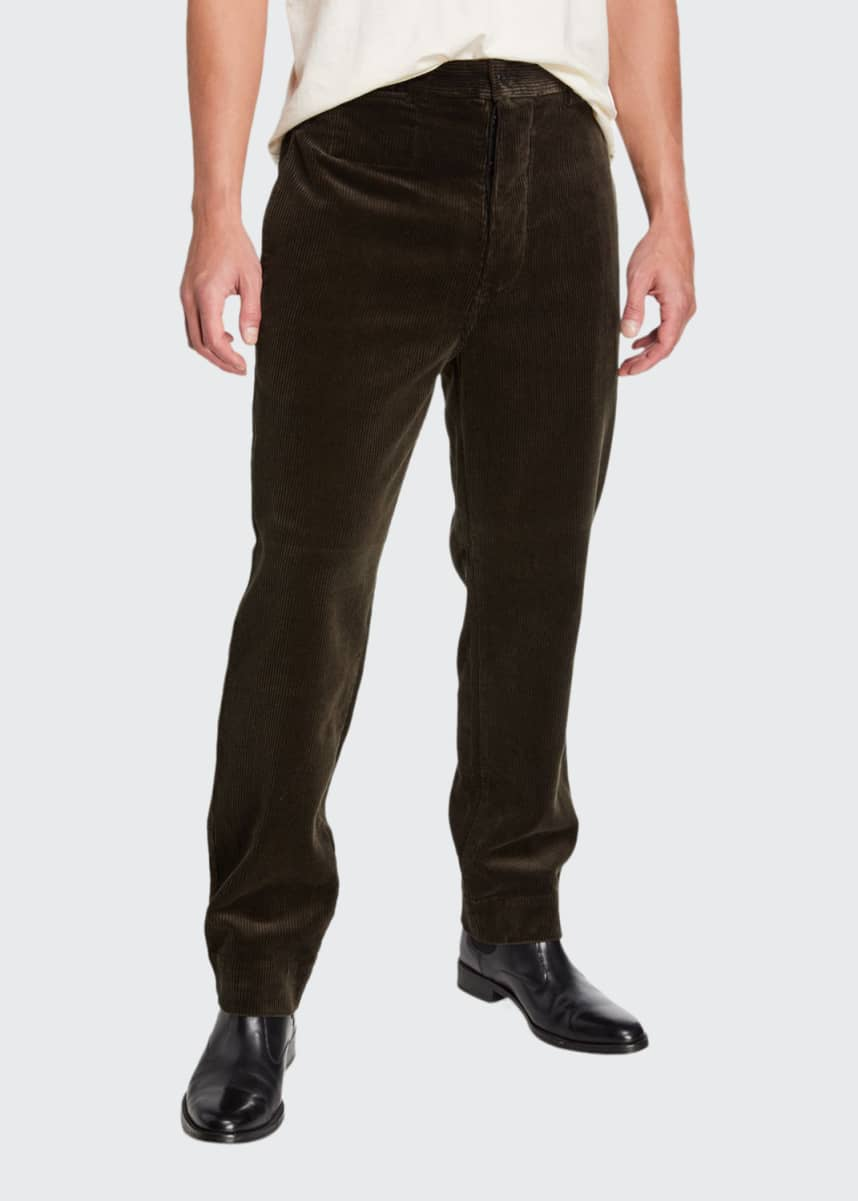 Margaret Howell Men's Straight-Leg Corduroy Pants
