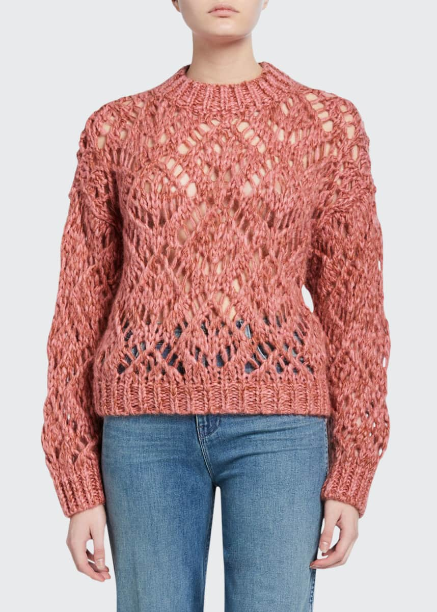 Stine Goya Alex Chunky Mohair Sweater