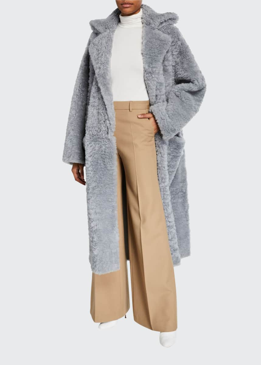 Boon The Shop Iceland Shearling Open-Front Coat