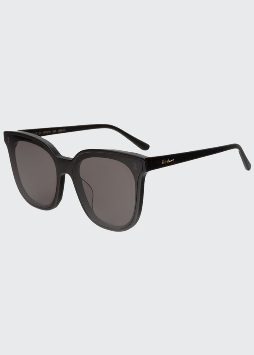 Illesteva Butterfly Acetate Sunglasses