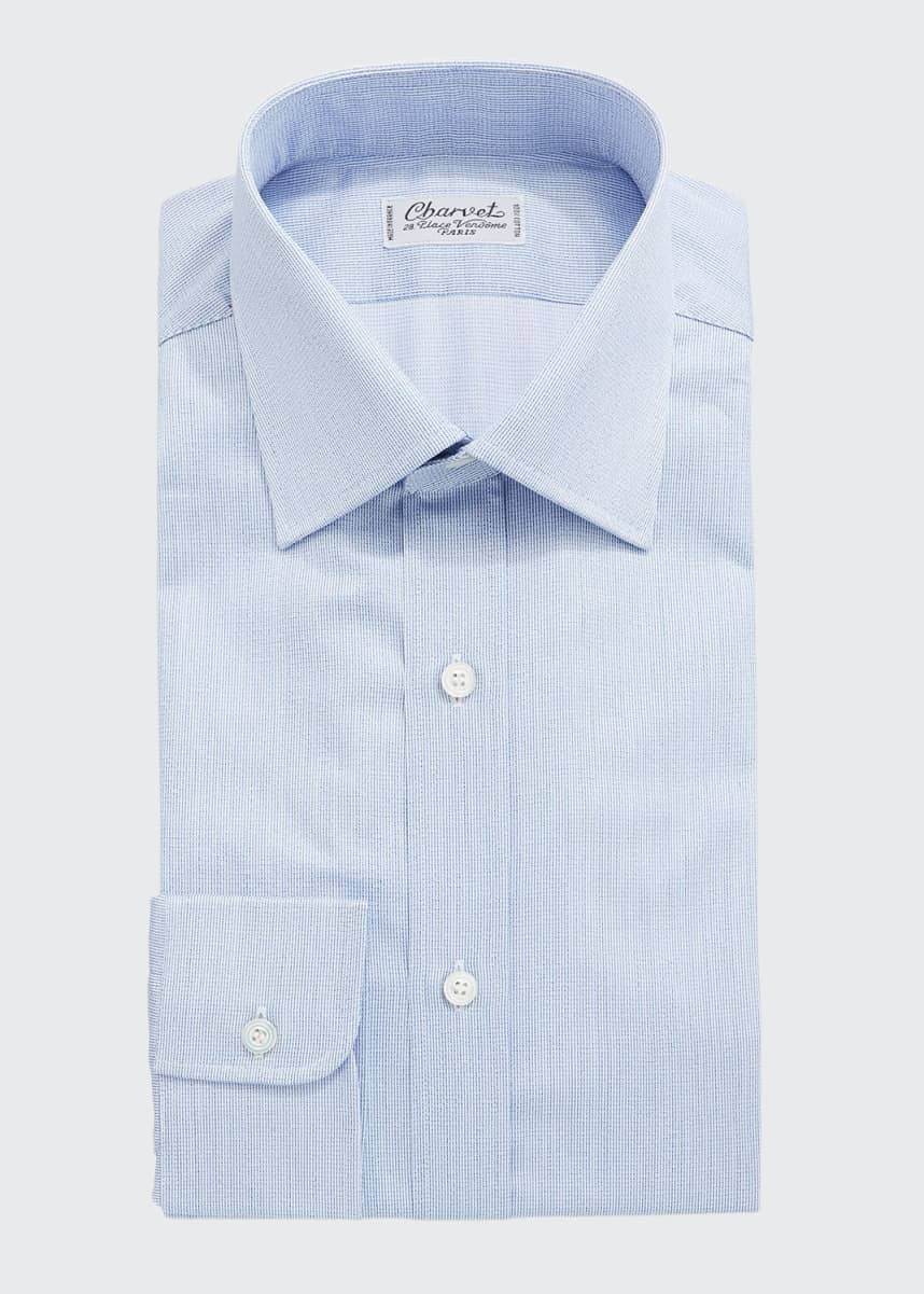 Charvet Men's Cotton Dress Shirt