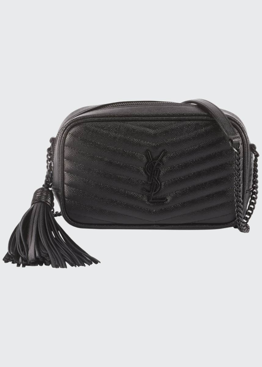 Saint Laurent Monogram Mini Camera Crossbody Bag
