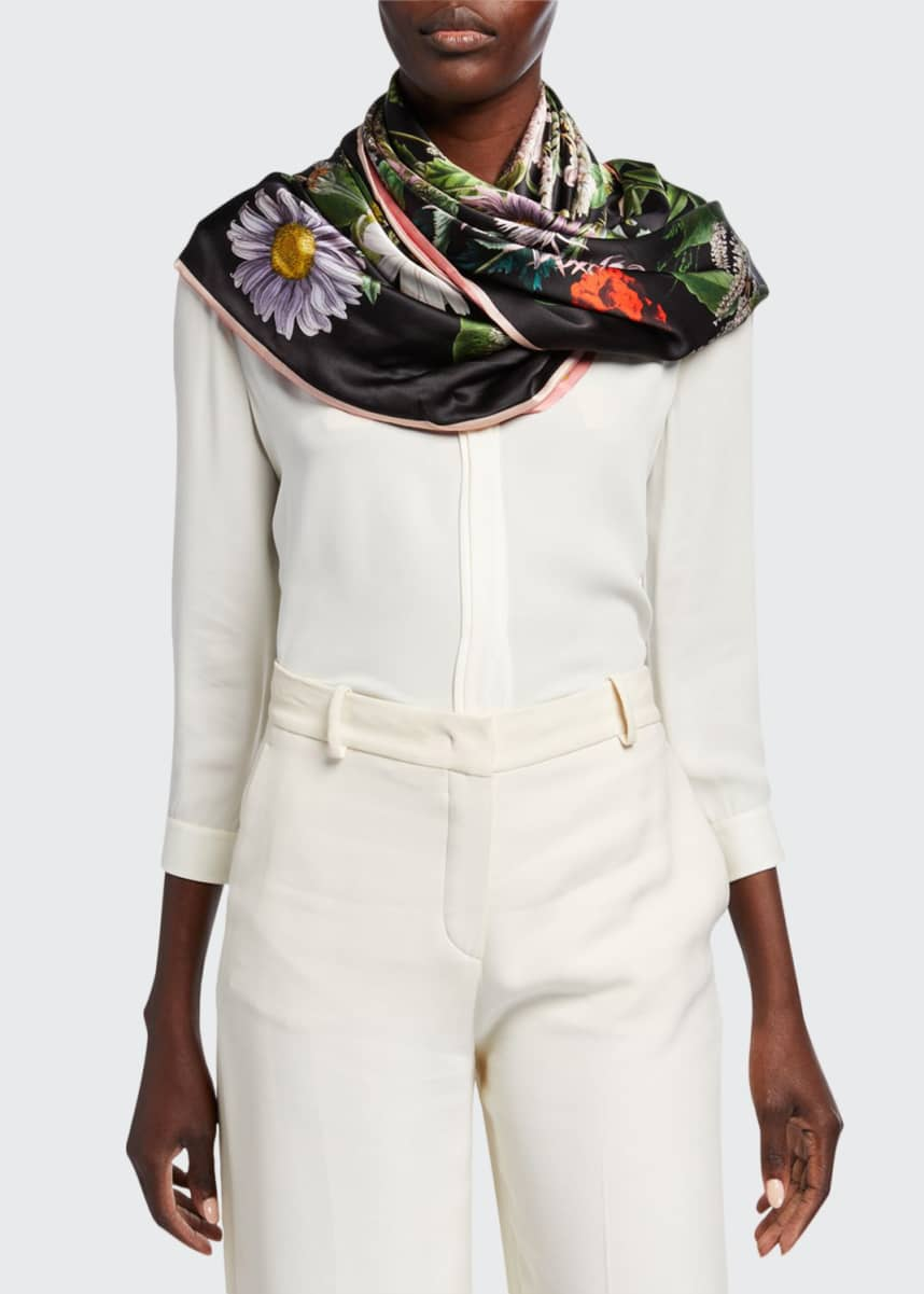 St. Piece Kala + Keira Double Sided Silk Scarf