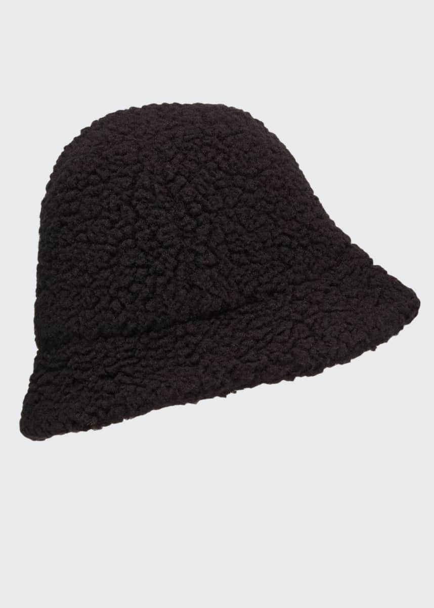 Cableami Men's Boa Sherpa Bucket Hat