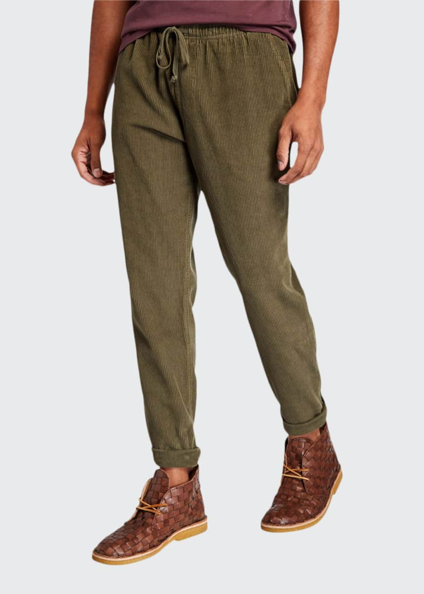 Save Khaki Men's 8-Wale Corduroy Easy Chino Pants