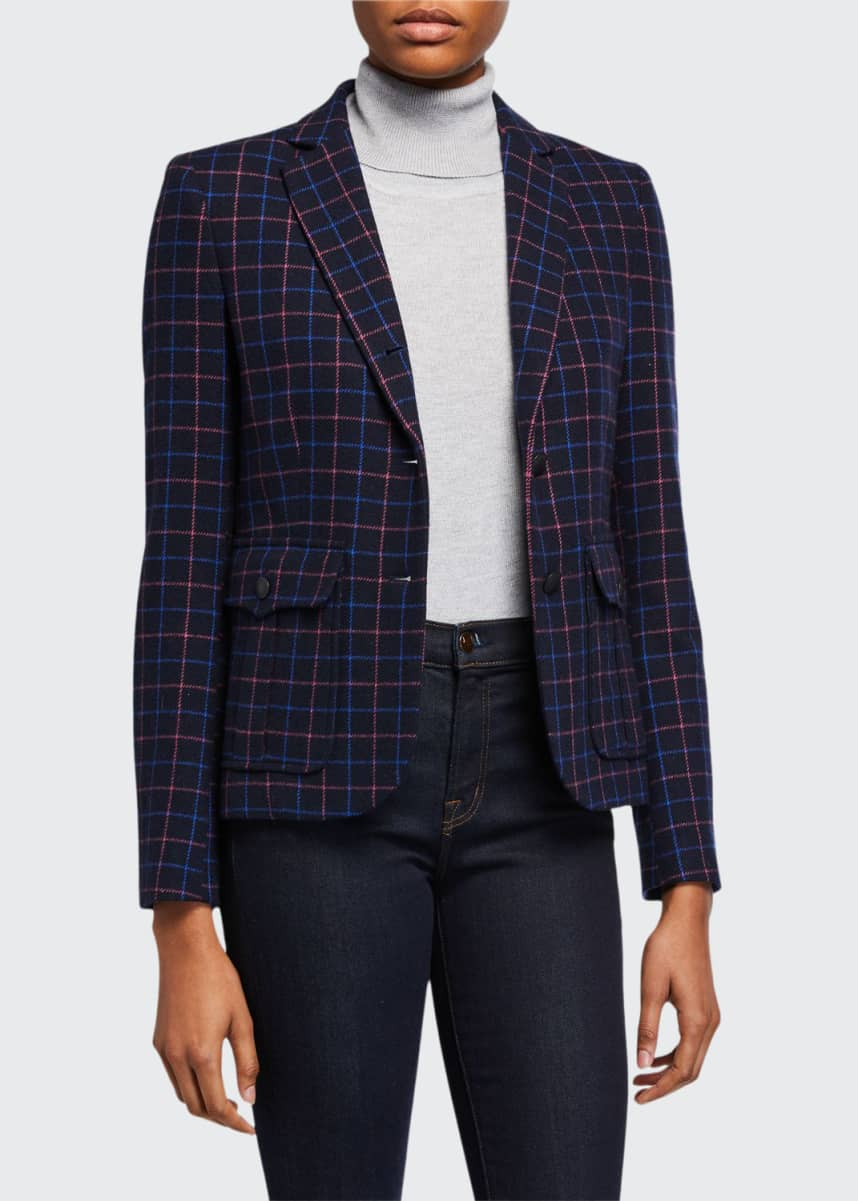 Rag & Bone NANCIE CHECK BLAZER