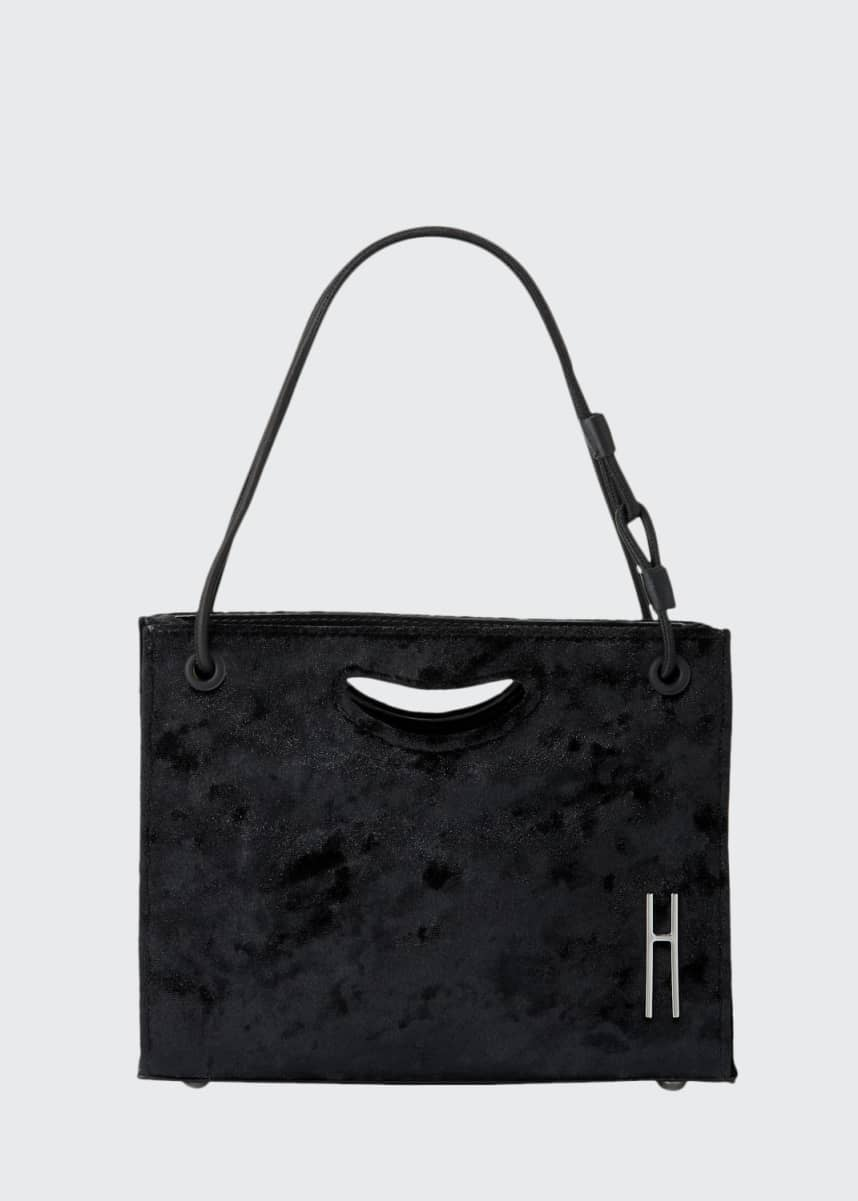 Hayward 1712 Mini Velvet Basket Bag