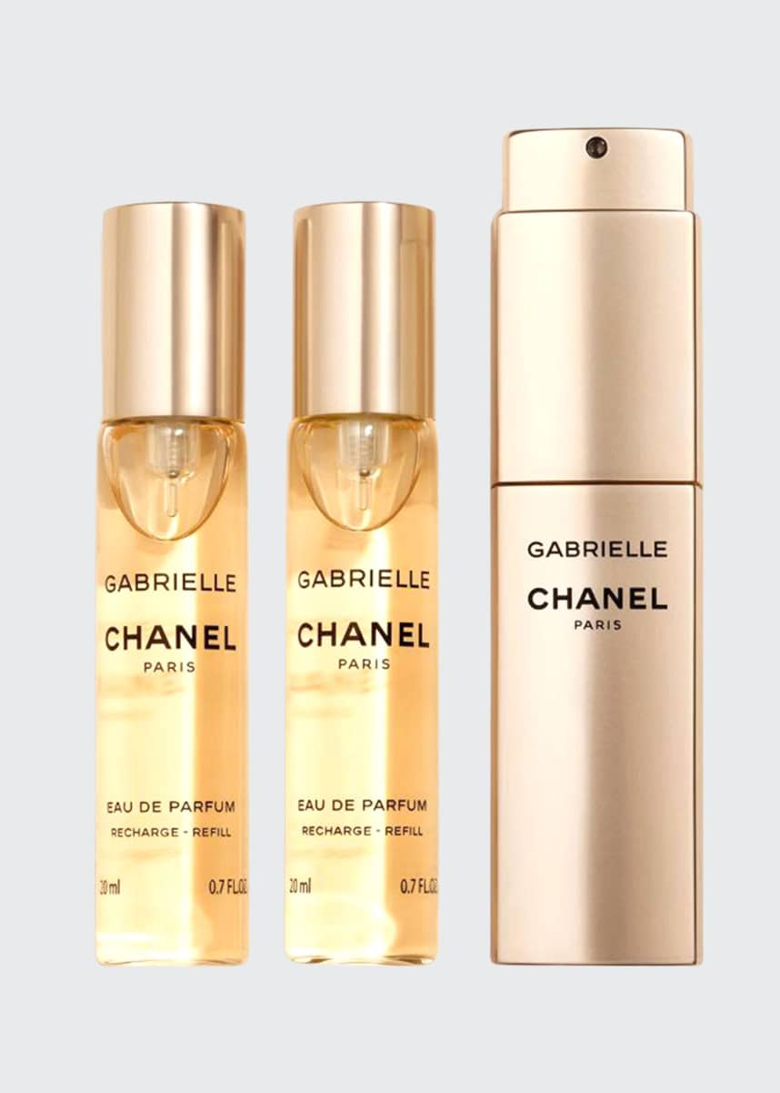 CHANEL GABRIELLE CHANELEau de Parfum Twist and Spray, 3 x 0.7 oz.