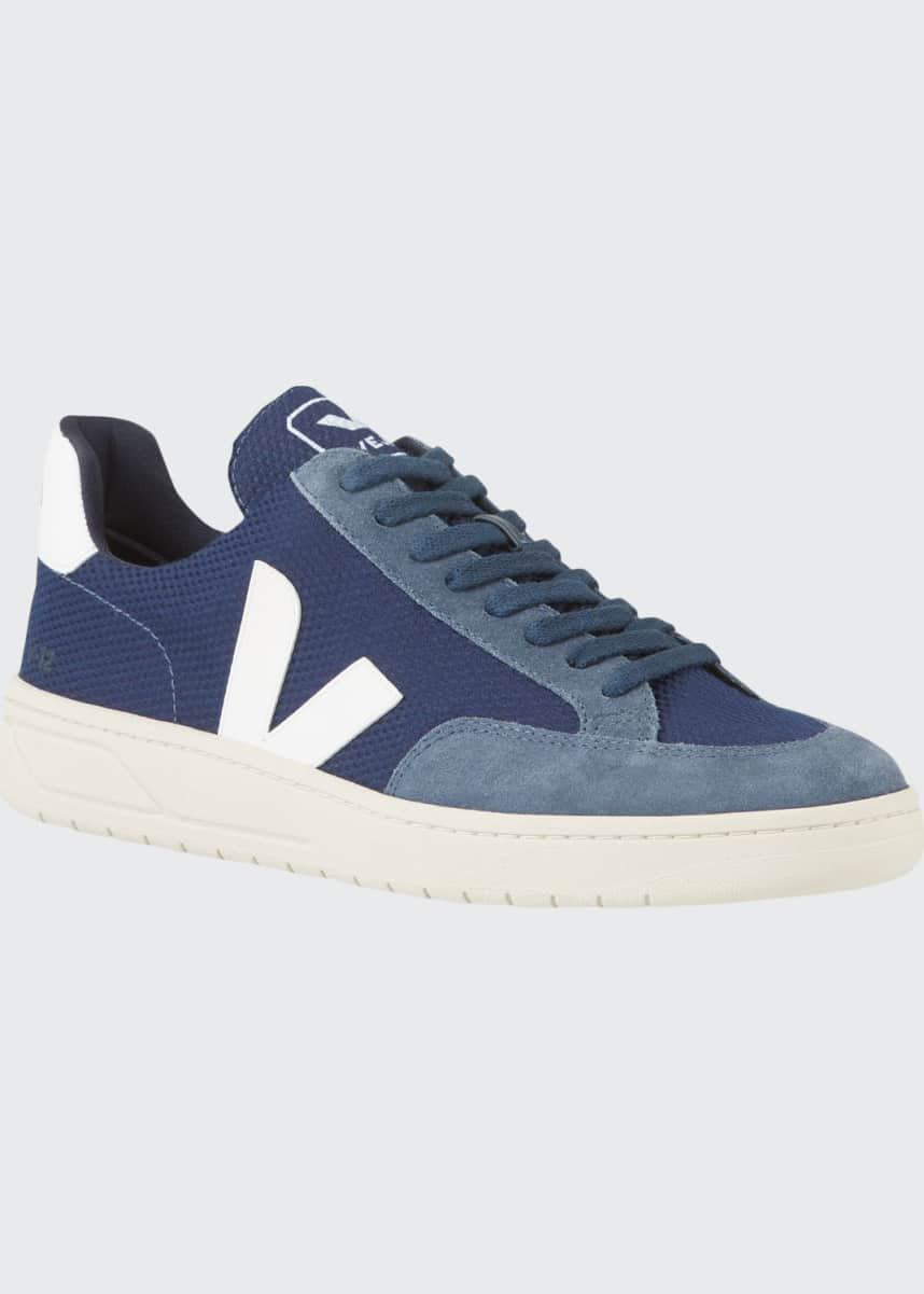 VEJA V12 Lace-Up Mesh Sneakers