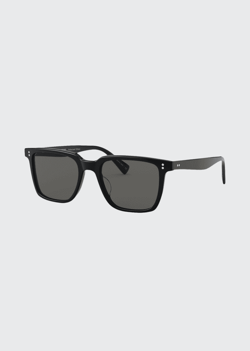 Oliver Peoples Square Polarized Acetate Sunglasses